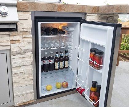 Bull Outdoor Front Panel Refrigerator