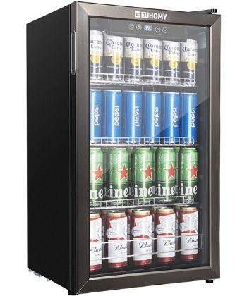 Euhomy Beverage Refrigerator