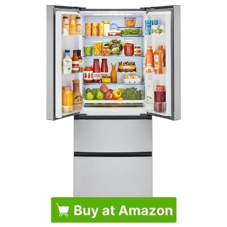 Haier HRF15N3AGS Stainless Steel French-door Refrigerator