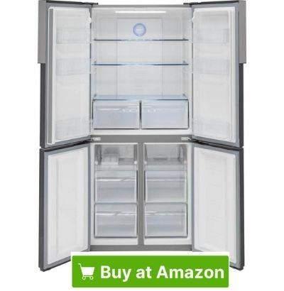 Haier 16.0 cu ft 4 door Stainless Steel Refrigerator 31
