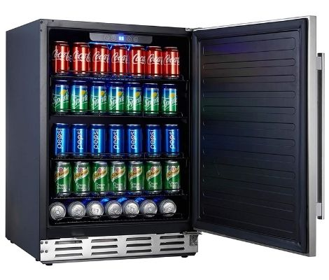 2. NewAir Beverage Refrigerator Cooler-Best Cheap undercounter Refrigerator