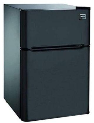 RCA RFR832-BLACK, 3.2 Cu. Ft. 2 Door Fridge with Freezer