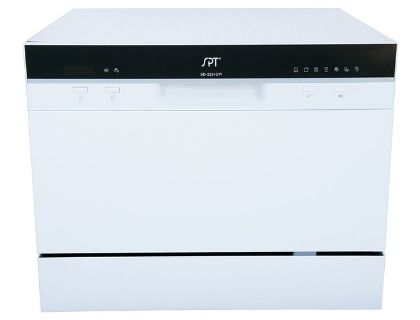 SPT SD-2224DW ENERGY STAR Compact Countertop Dishwasher
