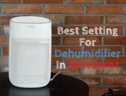 Best Setting For Dehumidifier In Basement