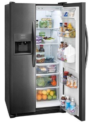 2. Frigidaire FFSS2615TS 36 Inch Side by Side Refrigerator