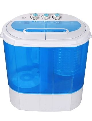 SUPER DEAL Compact Washing Machine