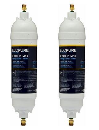 EcoPure EPINL30 5 Year in-Line Refrigerator Filter