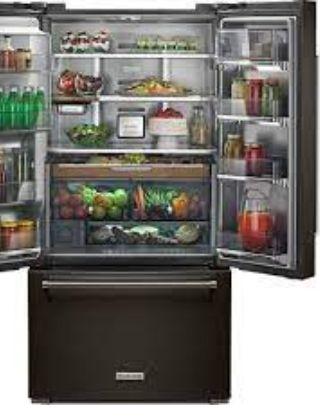KitchenAid 22 Cu. Ft. 33-Inch Width Full Depth Refrigerator