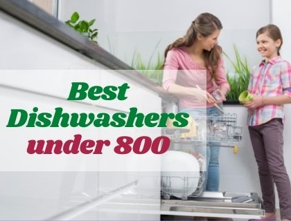 Best Dishwashers under 800