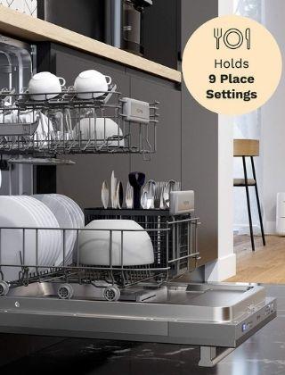 hOmeLabs HME030286N 18-Inch Dishwasher